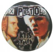 Sex Pistols - 'Johnny Kiss This' Button Badge